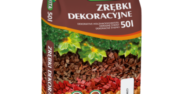 zdjęcie Mulch, colored mulch: yellow, brown, red, orange